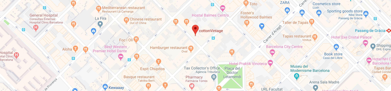 cottonVintage map