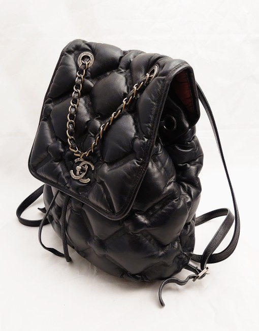 backpack chanel black
