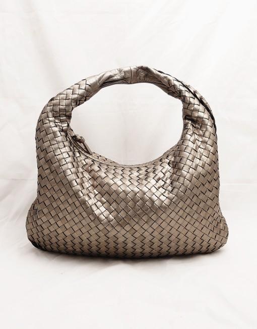 bag BOTTEGA silver