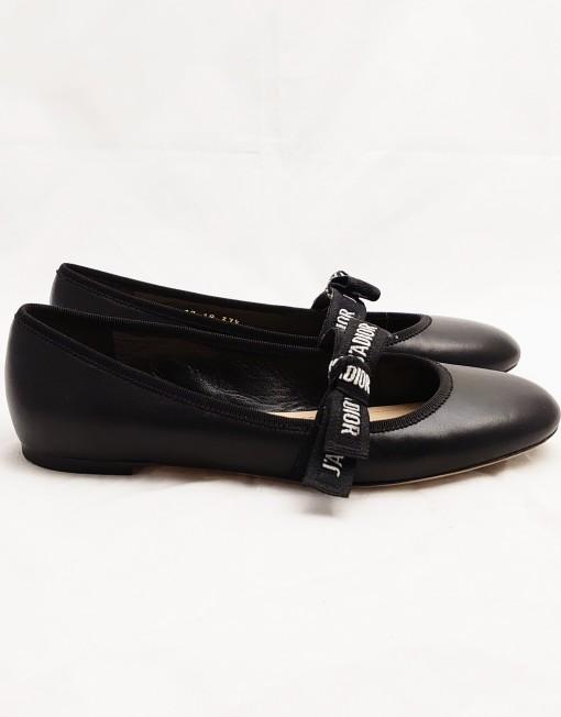ballerines dior black