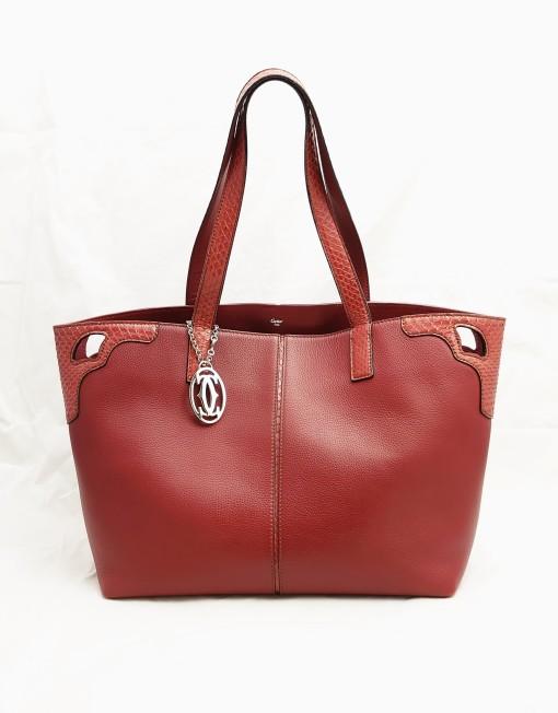 shoppingbag cartier red