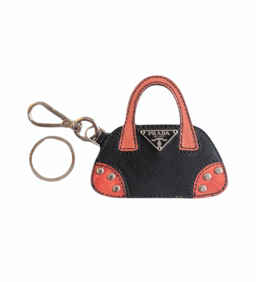 PRADA small leather Bag charm