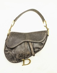 bag dior saddle grey