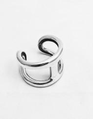 bracelet hermes h silver