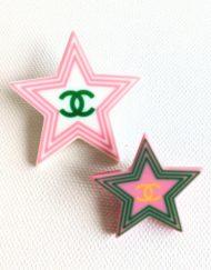 broche chanel stars