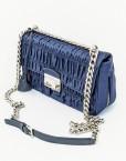 bag PRADA gaufre nylon blue