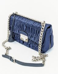 bag PRADA gaufre nylon blue