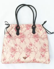 bag PRADA silk pink