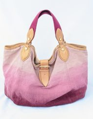 bag VUITTON denim degrade pink