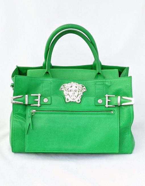 bag Versace medusa palazzo green