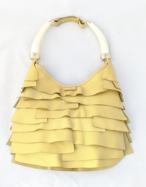 bag YSL yellow mombasa st tropez
