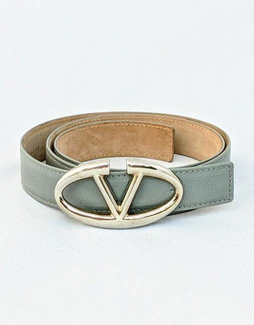 belt VALENTINO grey