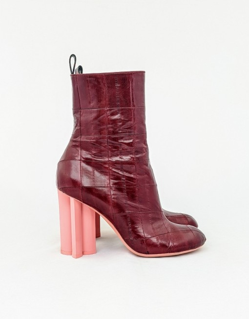 boots VUITTON silhouette red