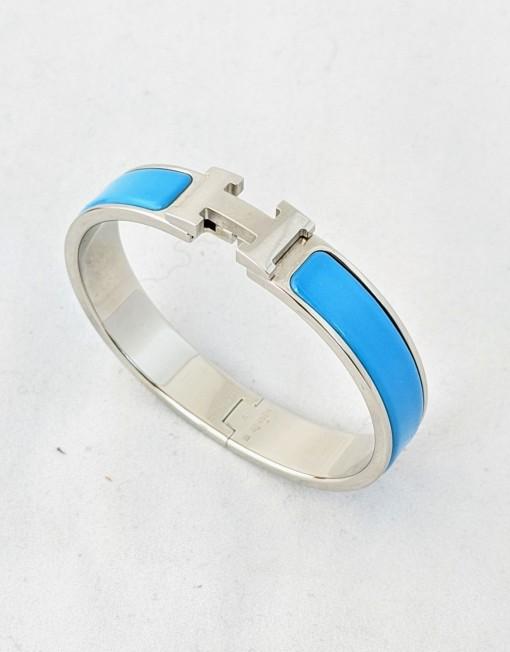 bracelet HERMES cliclac blue