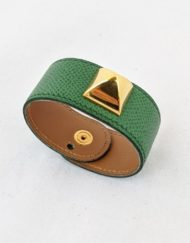 bracelet HERMES piramid green