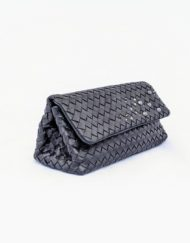 cloutch BOTTEGA VENETA black
