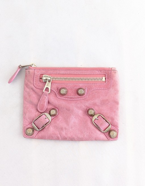 pochette Balenciaga pink