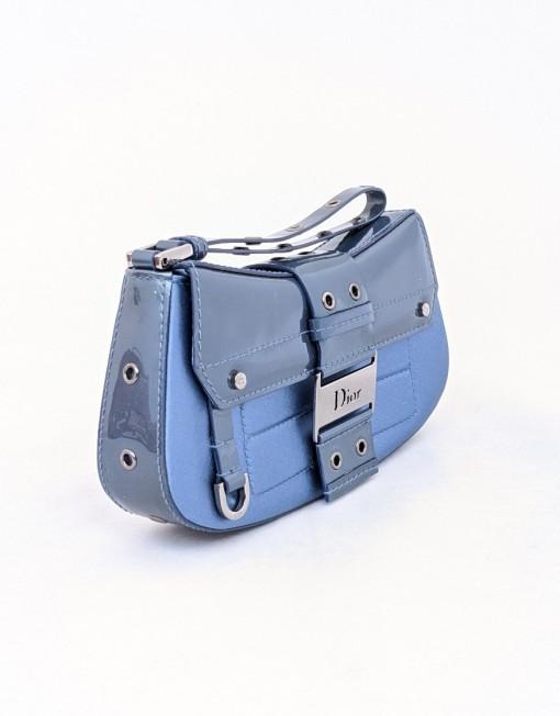 pochette DIOR blue