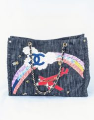 tote bag CHANEL denim
