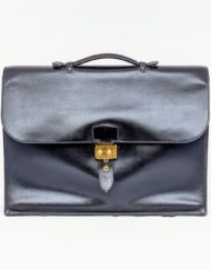 bag HERMES sac a depeches black
