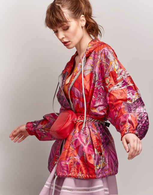 jacket FERRAGAMO jungle pink
