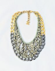 necklace CHANEL tweed