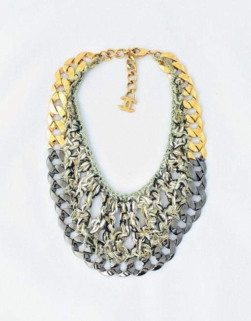 necklace CHANEL tweed