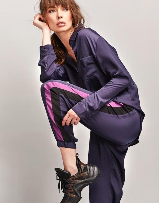 pants DKNY silk