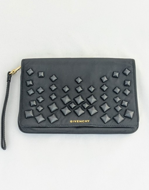 pouch GIVENCHY black stud