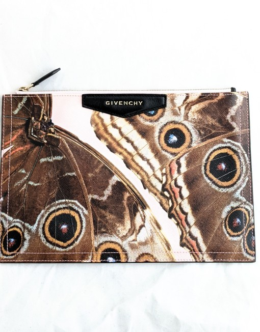 pouch GIVENCHY butterfly
