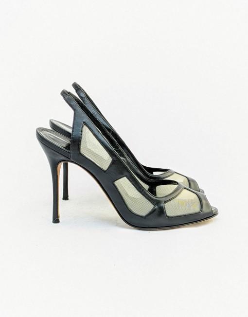 sandals MANOLO BLANHIK black