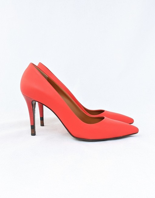 shoes FENDI red