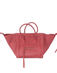 CELINE Lugagge phantom red bag
