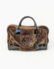 LOEWE Amazona mouton brown bag