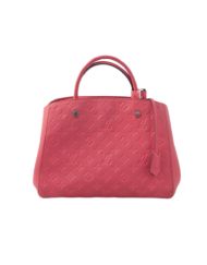 Louis VUITTON Montaigne MM poppy bag