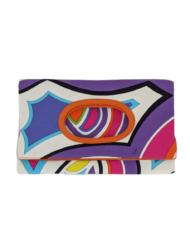 PUCCI canvas pouch