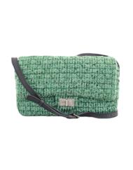 CHANEL 255 tweed crossbody bag