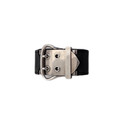 HERMES Buckle silver bracelet