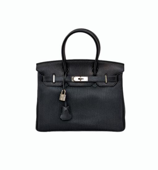 HERMES Birkin 30 Chevre leather bag