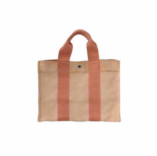HERMES Toto canvas vintage bag