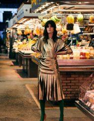 VERSACE golden vintage skirt