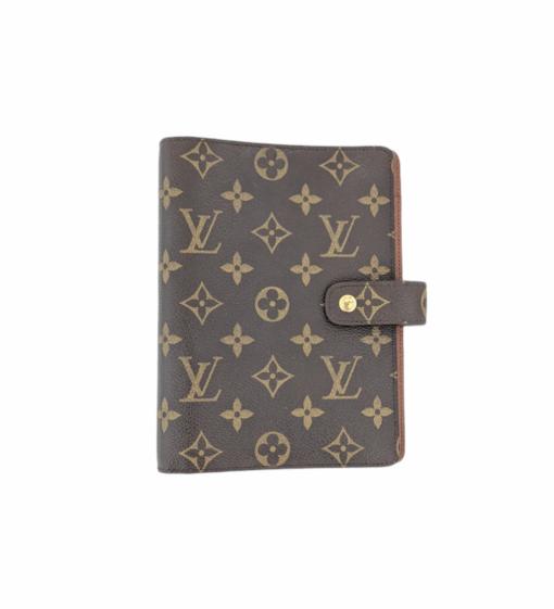 VUITTON Monogram notebook case