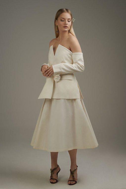 YvesSaintLaurent vintage cotton skirt