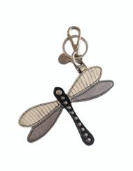 PRADA small leather DragonFly charm