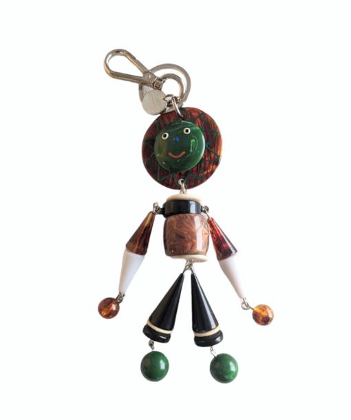 PRADA small resin Doll charm