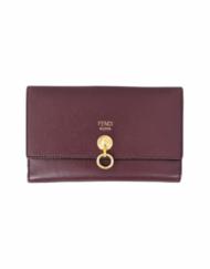 FENDI By The Way Burgundy wallet